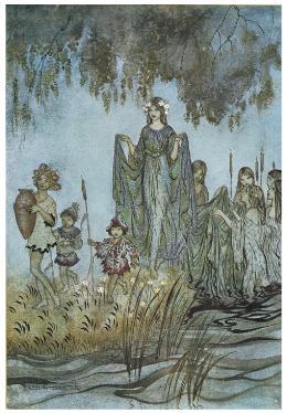 Comus, Arthur Rackham, 1921