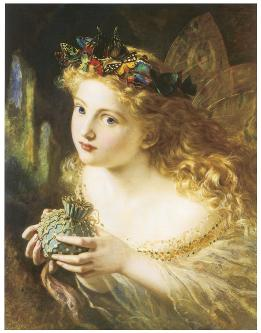 Take the Fair Face of Woman, Sophie Anderson, c. 1869