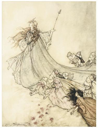 A Midsummer Night's Dream, Arthur Rackham, 1908